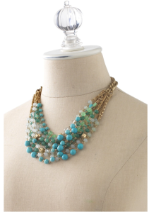 Cascading Maldives Necklace $128 @ STELLA & DOT