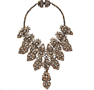 Erickson Beamon Crystal Bette Davis Eyes Bib Necklace$859 (from $2160) @ BARNEYS