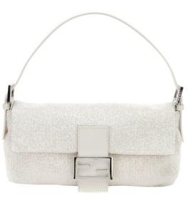 Fendi Beaded & Leather Baguette$2088 @ FARFETCH