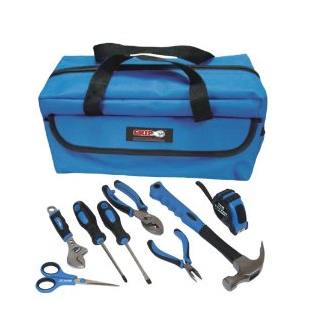 Grip 9-Piece Children's Tool Kit 