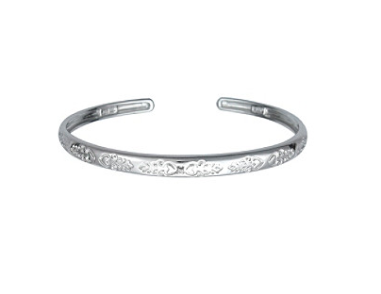 Precious Moments Diamond & Sterling Silver Bracelet $56 at BERGNER'S