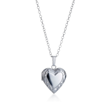 Sterling Silver Heart Locket $50 at MICHAEL C. FINA