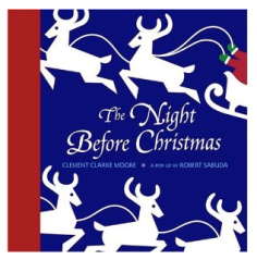 """The Night Before Christmas Pop-Up""($19 @ AMAZON)"