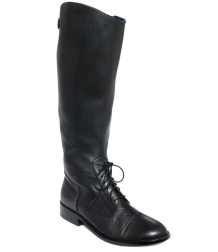 "Juicy Couture ""Rile Tall Riding Boots"" $250 on sale ($398) at MACYS"