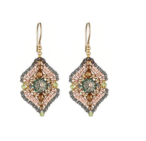 Miguel Ases Woven Drop Earrings($140 @ MAX AND CHLOE