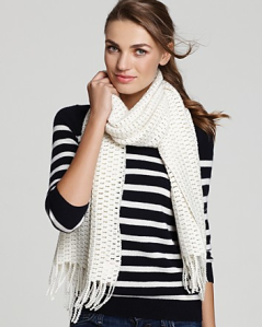 Echo Luxe Crochet Sparkle Muffler$55 (from $78) @ BLOOMINGDALES