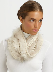 Sherry Cassin Crochet Twist Collar$100 (from $250) @ SAKS FIFTH AVENUE