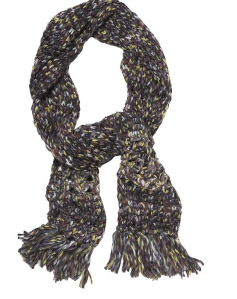 Free People Crocheted Fringe Charcoal Scarf$39 (from $50) @ PIPERLIME