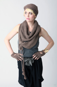 Spratters and Jane Alpaca Tie Scarf$262 @ SPRATTERS AND JANE