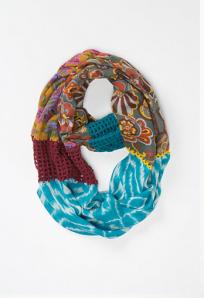 Crochet Spliced Loop Scarf$58 @ ANTHROPOLOGIE
