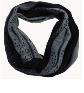 Chicastic Acrylic Crochet Infinity Scarf$20 @ AMAZON