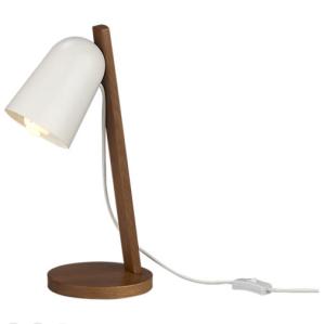 Clutch Walnut Table Lamp$99 @ CB2