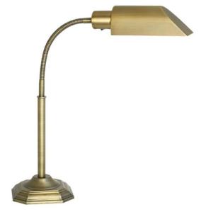 Alexander Brass Energy Savings Gooseneck Desk Lamp$80 (from $130) @ LAMPS PLUS