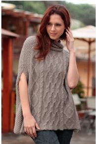 Alpaca Inca Fusion Peruvian Poncho Sweater$149 @ OVERSTOCK