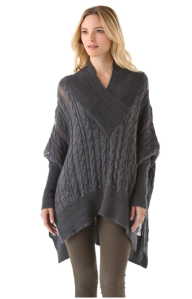 Feel the Piece V-neck Poncho$214 (from $306) @ SHOPBOP