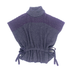 Cowl Poncho in Icelandic acrylic$62 (from $88) @ ECHO DESIGN