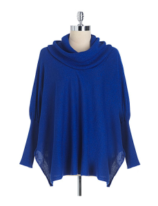 Cowlneck Poncho Sweater$50 (from $68) @ LORD & TAYLOR