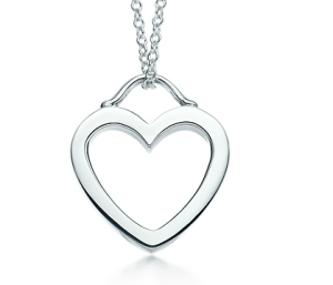 Sterling Silver Hearts Pendant Necklace$110 @ TIFFANY & CO