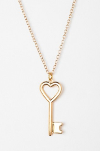 Key to My Heart Necklace$16 @ URBAN OUTFITTERS