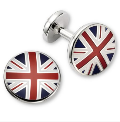 Union Jack Flag Cufflinks $79 (from $160) @ CHARLES TYRWHITT