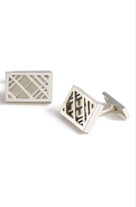 Burberry Metal Check Cuff Links$225 @ NORDSTROM