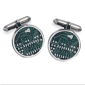 Sterling Motherboard Cufflinks$140 @ CUFF LINKS DEPOT