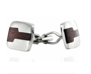 Wood Keyhole Cufflinks$40 @ CUFF DADDY