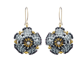 Floral Beaded Earrings$75 (from $125) @ GREENWICH JEWELERS