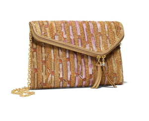 Suped Up Beaded Clutch Bag$298 @ HENRI BENDEL