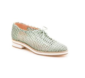 Jazzy Twine Oxford Shoes$385 @ STUART WEITZMAN
