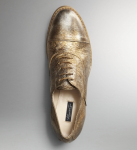 Bronze Oxford Shoes$250 @ KENNETH COLE