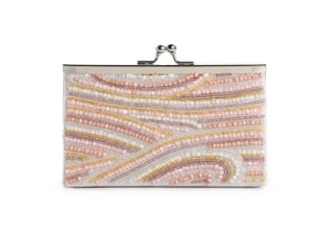 Pastel Beaded Clutch Handbag$35 (From $50) @ DSW