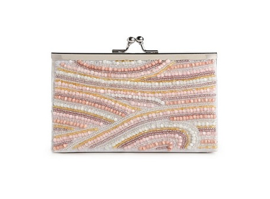 Pastel Beaded Clutch Handbag $35 (From $50) @ DSW
