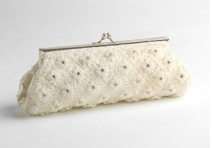 Sofia Fellini Beaded Clutch$88 @ LORD & TAYLOR