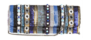 Mykonos Sequin Beaded Clutch$250 @ CALYPSO ST. BARTH