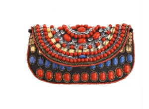 Isabelle Beaded Clutch purse$195 @ CALYPSO ST. BARTH