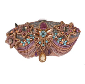 "Mary Frances ""Princess"" beaded clutch$308 @ MARY FRANCES"
