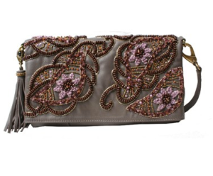 "Mary Frances ""Witty"" Beaded Clutch$142 (from $262) @ MARY FRANCES"