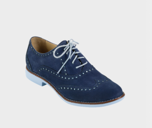 Gramercy Oxford Shoes (blue, grey, red or tan)$198 @ COLE HAAN