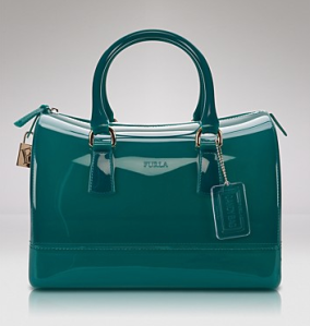 Furla Patent Satchel Bag ($228)BLOOMINGDALES