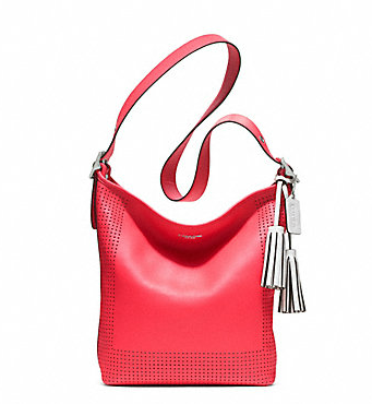 Perforated Duffle Purse $398 COACH