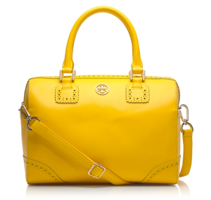 Robinson Spectator Middy Satchel Bag ($525)TORY BURCH