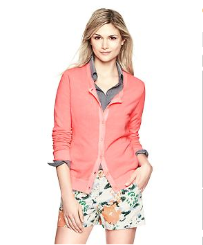 Crew Cardigan $34 (was $45) GAP