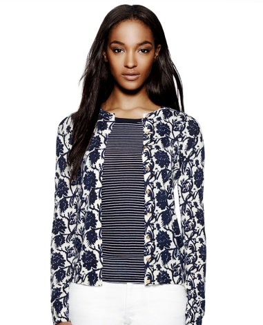 Oleander Cardigan $147 (was $295) TORY BURCH