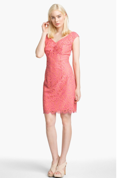 "Lilly Pulitzer ""Rosaline"" Lace Sheath Dress  $278 NORDSTROM"