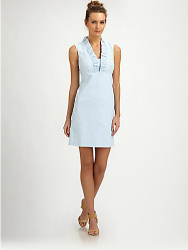 "Lilly Pulitzer Cotton ""Adaline"" Dress  $198 SAKS.COM"