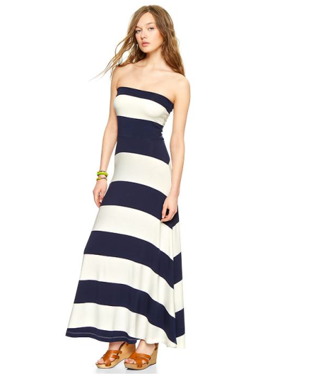 Stripe 4-in-1 Dress ($42 w/ coupon)