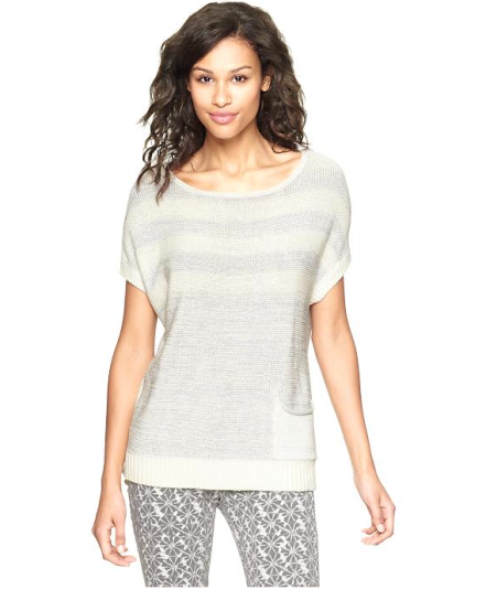 Marled Striped Sweater ($24.50 w/ coupon)