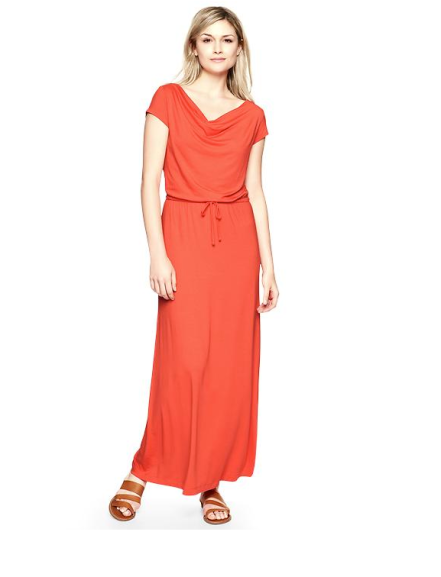 Drapey Maxi Dress ($45 w/ coupon)