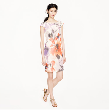 Greta Dress in Floral Taffeta $280 (from $350)